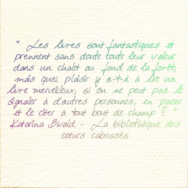 Favori Un livre, une phrase… | Love In Books NM64