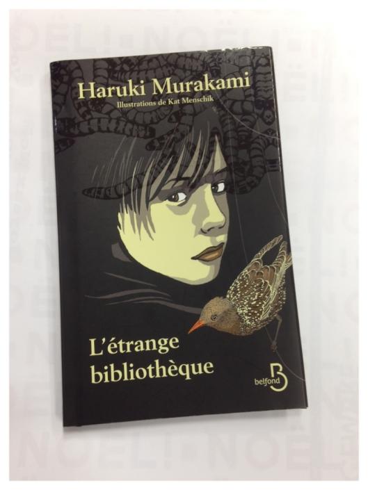 Haruki Murakami - L'étrange bibliothèque - Couverture